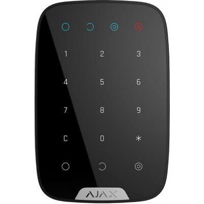 Беспроводная сенсорная клавиатура Ajax KeyPad Black (000005653)