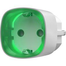 Радиоуправляемая умная розетка со счетчиком энергопотребления Ajax Socket White (000012320)