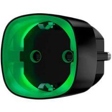 Радиоуправляемая умная розетка со счетчиком энергопотребления Ajax Socket Black (000012339)