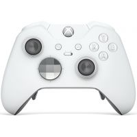 Microsoft Xbox One S Wireless Controller Elite with Bluetooth Special Edition (White)