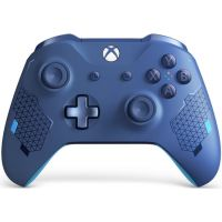 Microsoft Xbox One S Wireless Controller with Bluetooth Special Edition (Sport Blue)