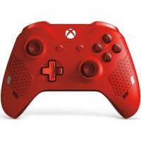 Microsoft Xbox One S Wireless Controller with Bluetooth Special Edition (Sport Red)