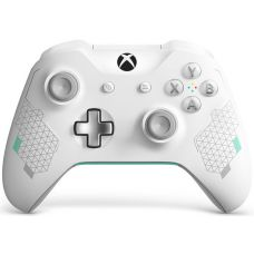 Microsoft Xbox One S Wireless Controller with Bluetooth Special Edition (Sport White)