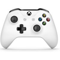 Microsoft Xbox One S Wireless Controller with Bluetooth (White)