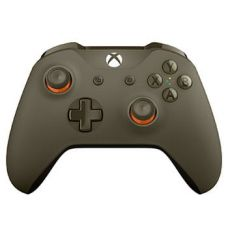 Microsoft Xbox One S Wireless Controller with Bluetooth (Green Orange)