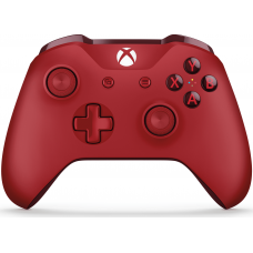 Microsoft Xbox One S Wireless Controller with Bluetooth (Red)