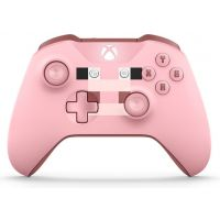 Microsoft Xbox One S Wireless Controller with Bluetooth (Minecraft Pig)