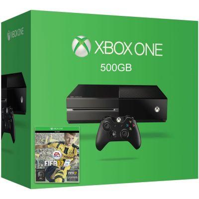 Microsoft Xbox One 500Gb + FIFA 17 (русская версия)