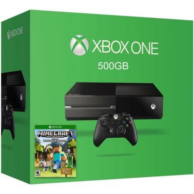 Microsoft Xbox One 500Gb + Minecraft (русская версия)