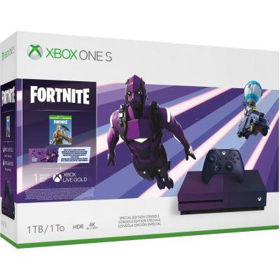 Microsoft Xbox One S 1Tb Fortnite Battle Royale Special Edition Bundle