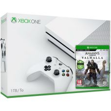Microsoft Xbox One S 1Tb White + Assassin's Creed Valhalla\Вальгалла (русская версия)