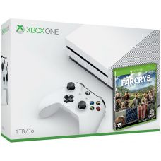 Microsoft Xbox One S 1Tb White + Far Cry 5 (русская версия)