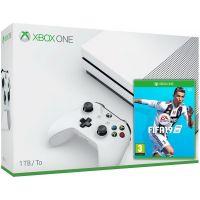 Microsoft Xbox One S 1Tb White + FIFA 19 (русская версия)