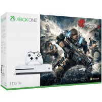 Microsoft Xbox One S 1Tb White + Gears of War 4 (русская версия)