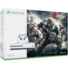 Microsoft Xbox One S 1Tb White + Gears of War 4 (русская версия)