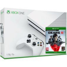 Microsoft Xbox One S 1Tb White + Gears 5 (русская версия)