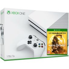 Microsoft Xbox One S 1Tb White + Mortal Kombat 11 Special Edition (русская версия)