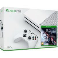 Microsoft Xbox One S 1Tb White + Star Wars Jedi: Fallen Order (русская версия)