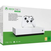 Microsoft Xbox One S 1Tb White All-Digital Edition