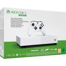 Microsoft Xbox One S 1Tb White All-Digital Edition + Minecraft + Sea of Thieves + Forza Motorsport 7