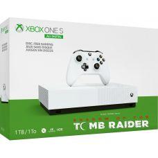 Microsoft Xbox One S 1Tb White All-Digital Edition + Shadow of the Tomb Raider (ваучер на скачивание) (русская версия)