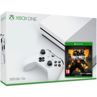 Microsoft Xbox One S 500Gb White + Call of Duty: Black Ops 4 (русская версия)
