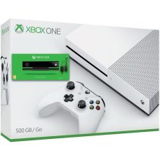 Microsoft Xbox One S 500Gb White + Adapter Kinect + Kinect