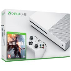 Microsoft Xbox One S 500Gb White + Battlefield 1 (русская версия)
