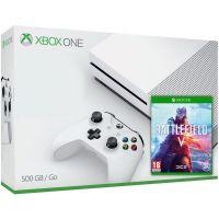 Microsoft Xbox One S 500Gb White + Battlefield V (русская версия)