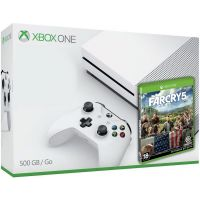 Microsoft Xbox One S 500Gb White + Far Cry 5 (русская версия)