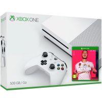 Microsoft Xbox One S 500Gb White + FIFA 20 (русская версия)