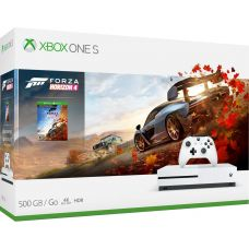 Microsoft Xbox One S 500Gb White + Forza Horizon 4 (русская версия)