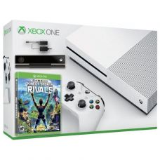 Microsoft Xbox One S 500Gb White + Kinect Sports Rivals (русская версия) + Adapter Kinect + Kinect