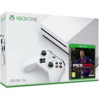 Microsoft Xbox One S 500Gb White + PES 2019 (русская версия)