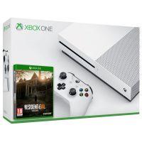 Microsoft Xbox One S 500Gb White + Resident Evil 7: Biohazard (русская версия)