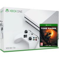 Microsoft Xbox One S 500Gb White + Shadow of the Tomb Raider (русская версия)