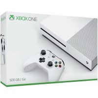 Microsoft Xbox One S 500Gb White + Игра на выбор в подарок!