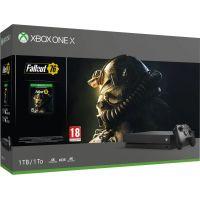 Microsoft Xbox One X 1Tb + Fallout 76 (русская версия)