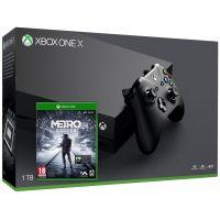 Microsoft Xbox One X 1Tb + Metro Exodus (русская версия)