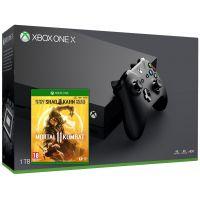 Microsoft Xbox One X 1Tb + Mortal Kombat 11 (русская версия)