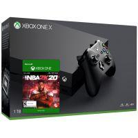 Microsoft Xbox One X 1Tb + NBA 2K20 (ваучер на скачивание)