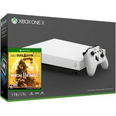 Microsoft Xbox One X 1Tb Robot White Special Edition + Mortal Kombat 11 (русская версия)