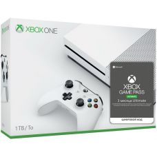 Microsoft Xbox One S 1Tb White + Xbox Game Pass Ultimate (3 месяца)