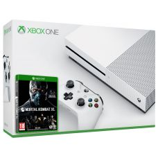 Microsoft Xbox One S 500Gb White + Mortal Kombat XL (русская версия)