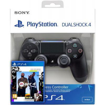 UFC 4 (русская версия) (PS4) + Sony DualShock 4 Version 2 (black)