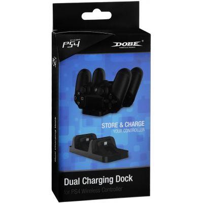 Зарядная станция Dobe для DualShock 4