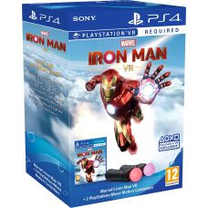 Marvel's Iron Man VR (русская версия) (PS4) + Sony PlayStation Move Controller
