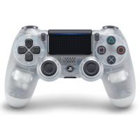 Sony DualShock 4 Version 2 (Crystal)