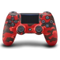 Sony DualShock 4 Version 2 (Red Camouflage)