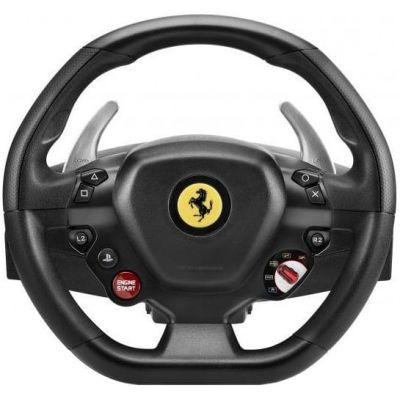 Руль и педали Thrustmaster T80 Ferrari 488 GTB Edition PC/PS4 Black (4160672)